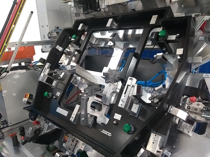 Automated checking fixture